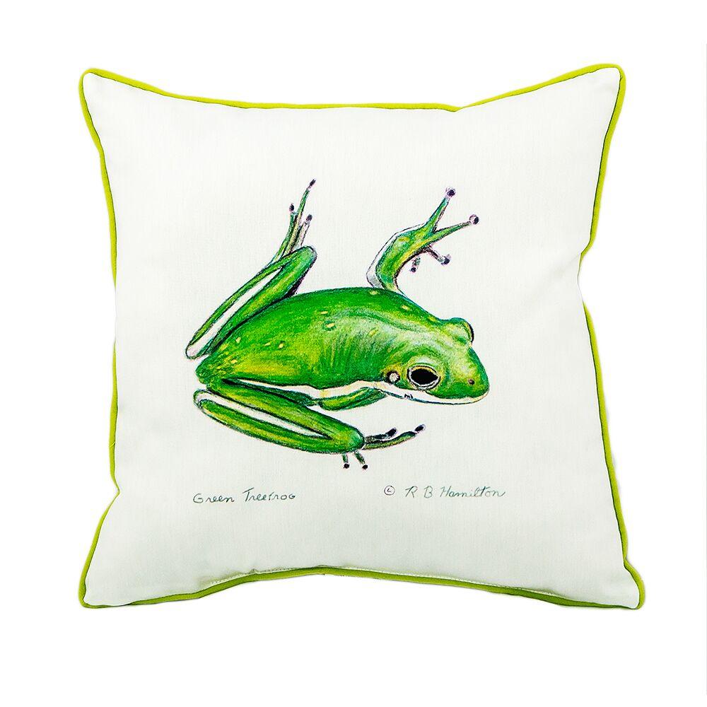 Tomlinson Treefrog Indoor/Outdoor Throw Pillow
