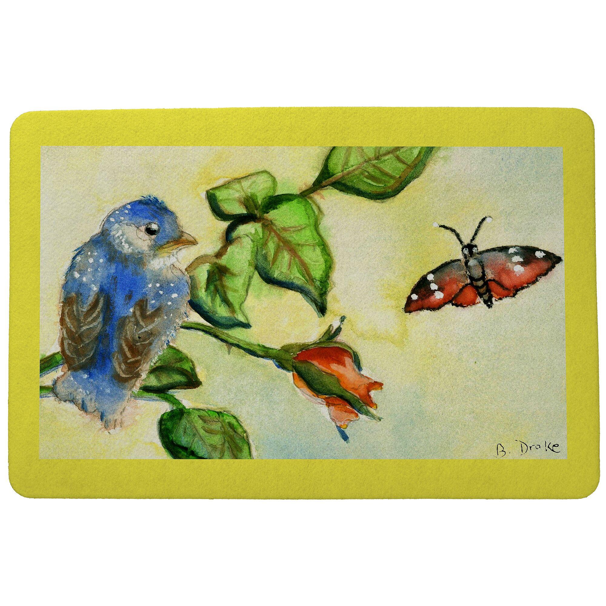 Simonds Bird Doormat Mat Size: Rectangle 30