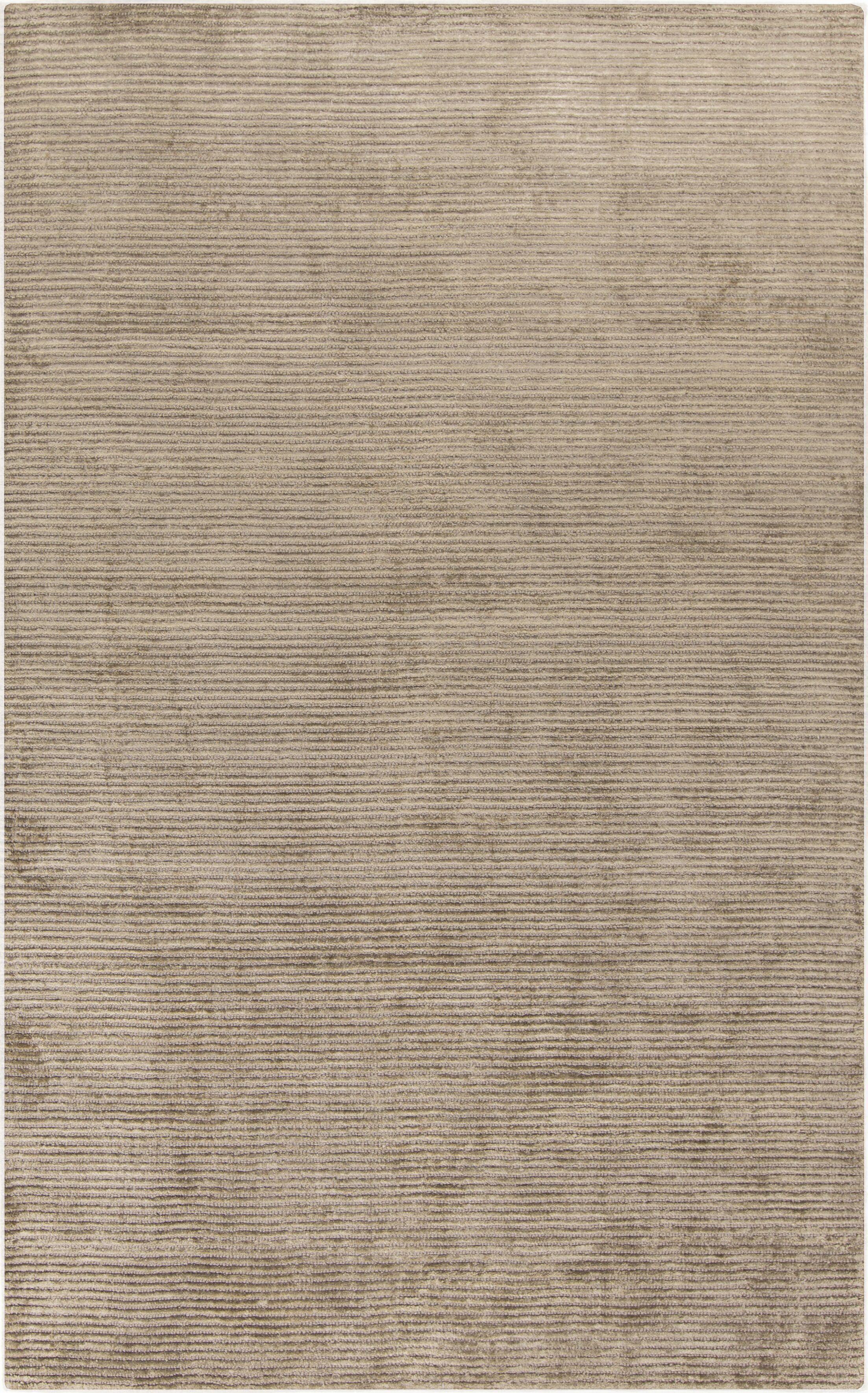 Tiffany Gray Solid Rug Rug Size: Rectangle 3'3