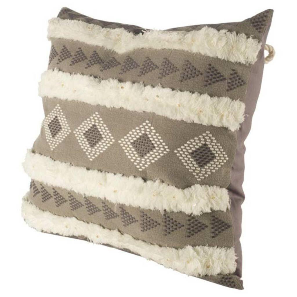 Chandler Geometric Linen Throw Pillow