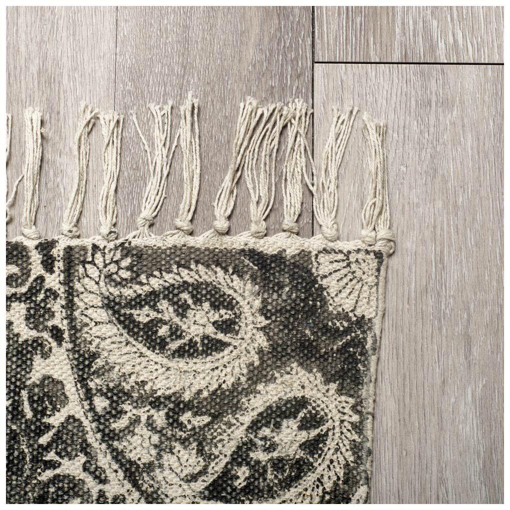 Cecelia Hand-Woven Cream Area Rug