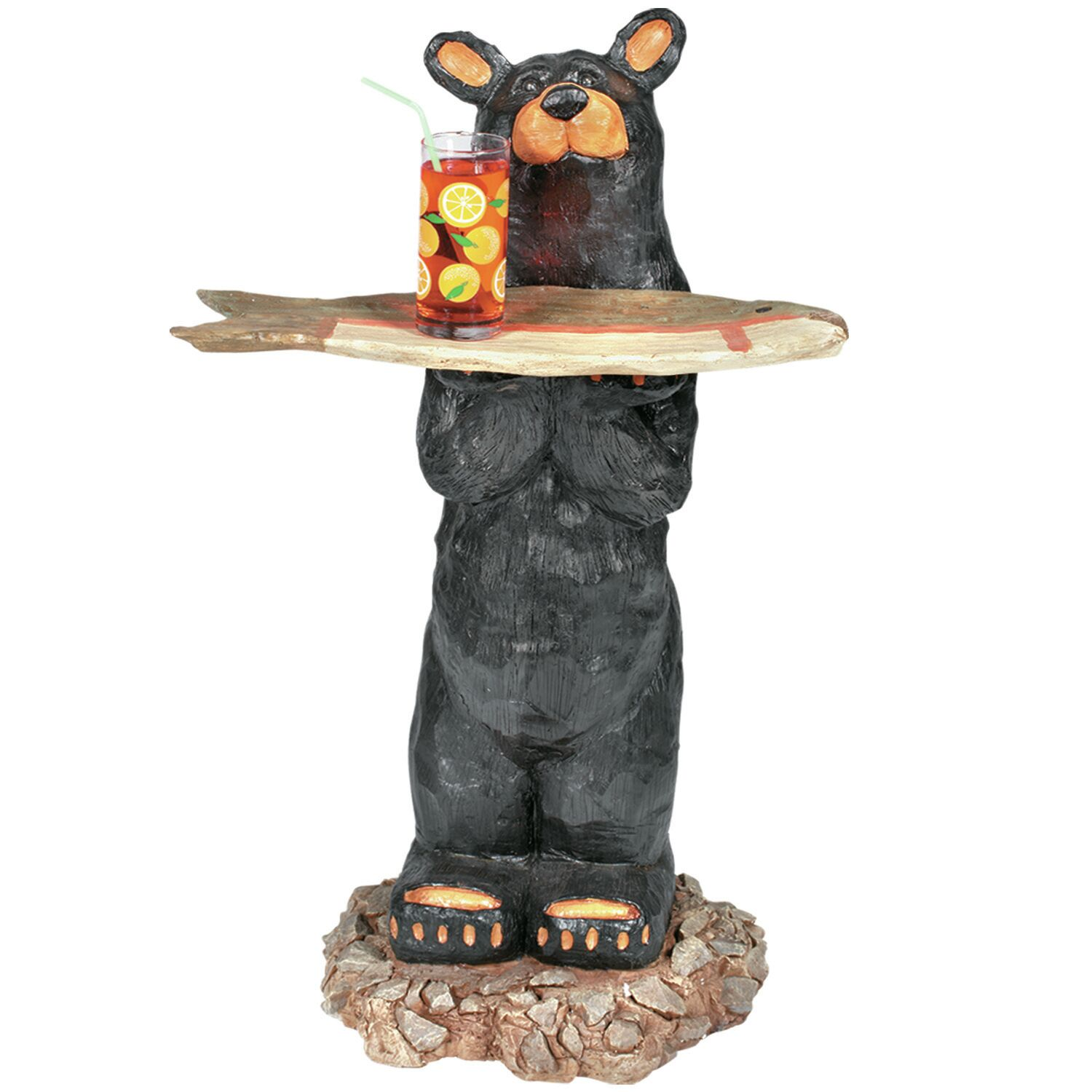 Bear Waiter Outdoor Table