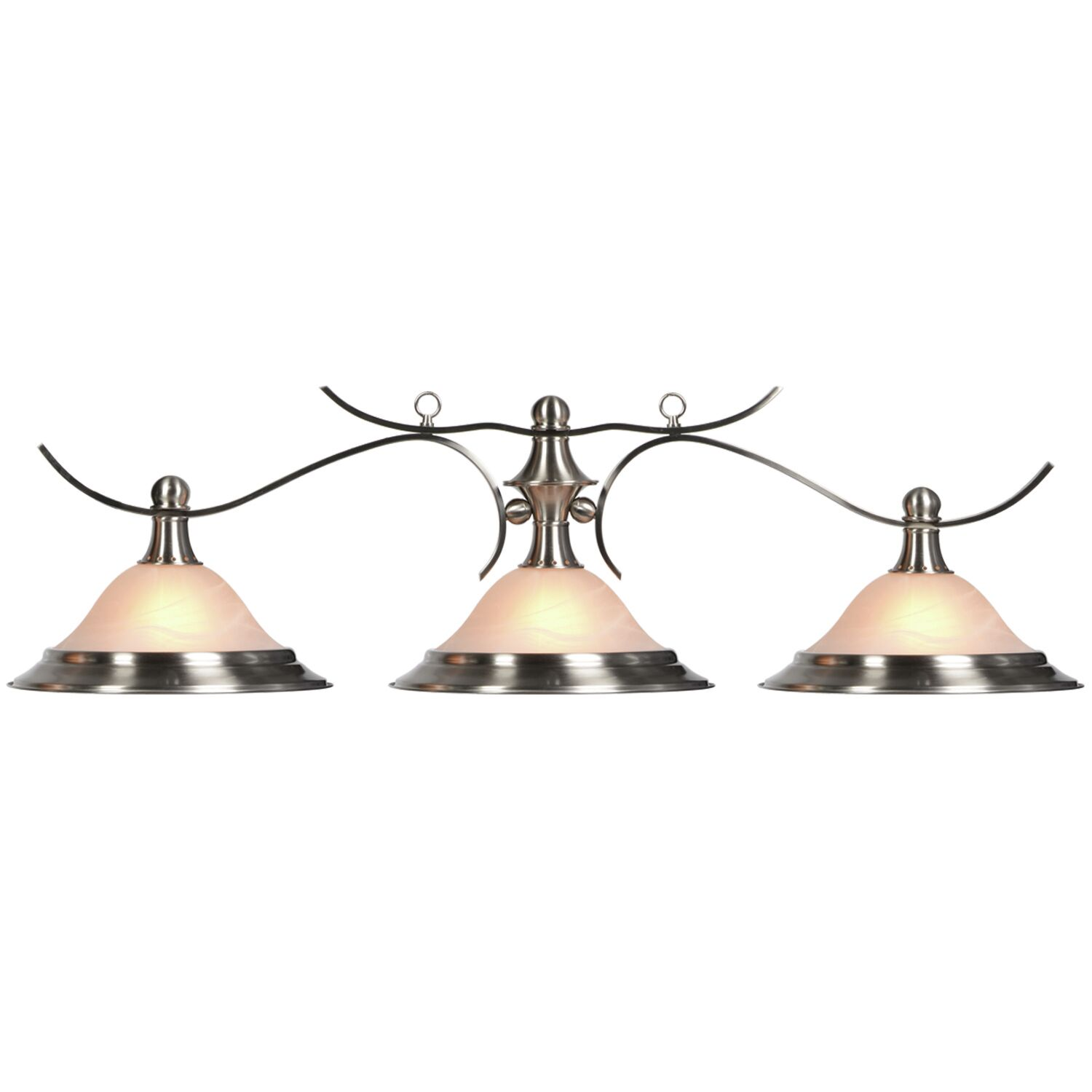 Liberty 3-Light Pendant Finish: Stainless Steel