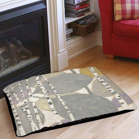 Birch Leaf 2 Indoor/Outdoor Pet Bed Size: 40