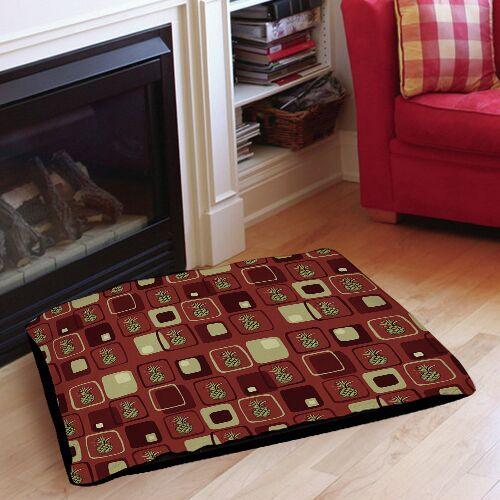Deco Pineapple Indoor/Outdoor Pet Bed Size: 40