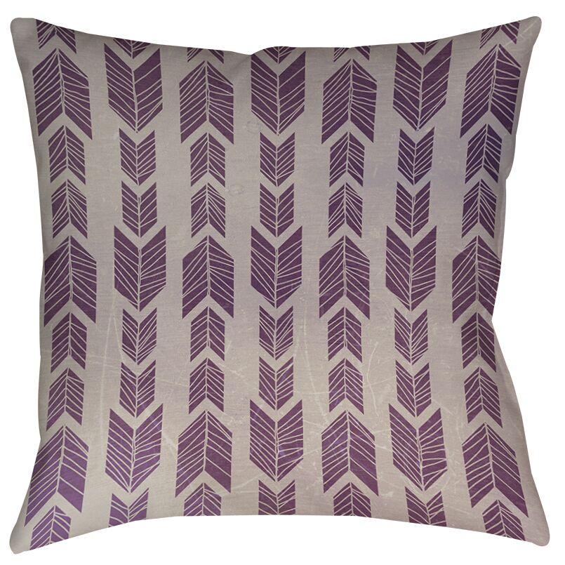 Lucina Printed Throw Pillow Size: 18