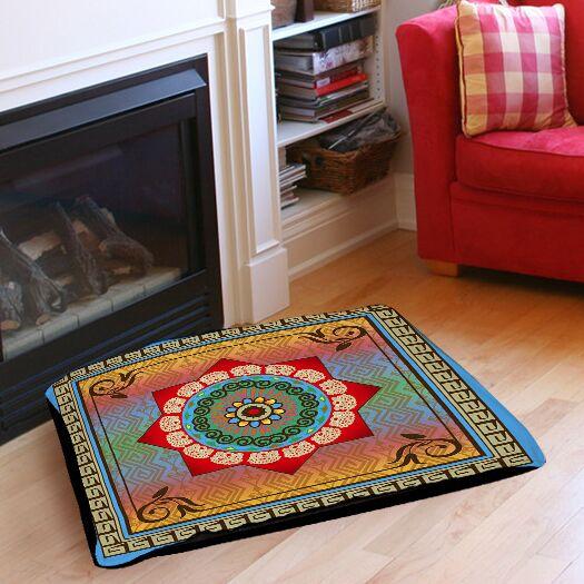 Mexican Summer Indoor/Outdoor Pet Bed Size: 50