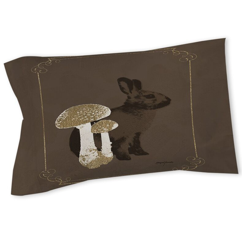 Luxury Lodge Rabbit Sham Size: Twin