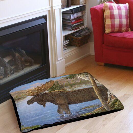 Majestic Moose Indoor/Outdoor Pet Bed Size: 28