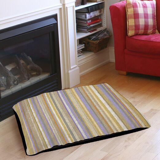 Plum Scene 2 Indoor/Outdoor Pet Bed Size: 50