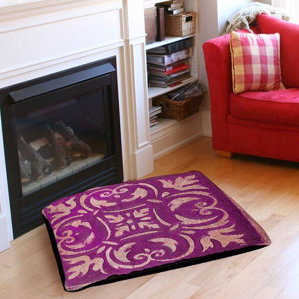 Annalise Mosai Indoor/Outdoor Indoor/Outdoor Pet Bed Size: 28