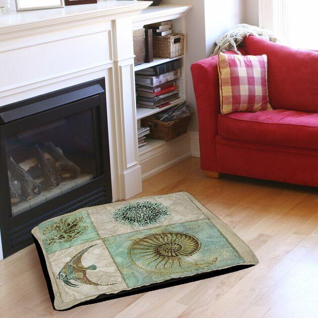 Sea Life 2 Indoor/Outdoor Pet Bed Size: 40