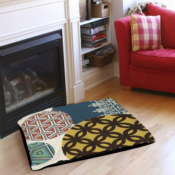 Paper Lanterns 1 Indoor/Outdoor Pet Bed Size: 50