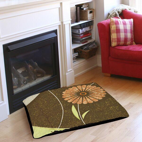 Graphic Garden Suri Pet Bed Size: 50
