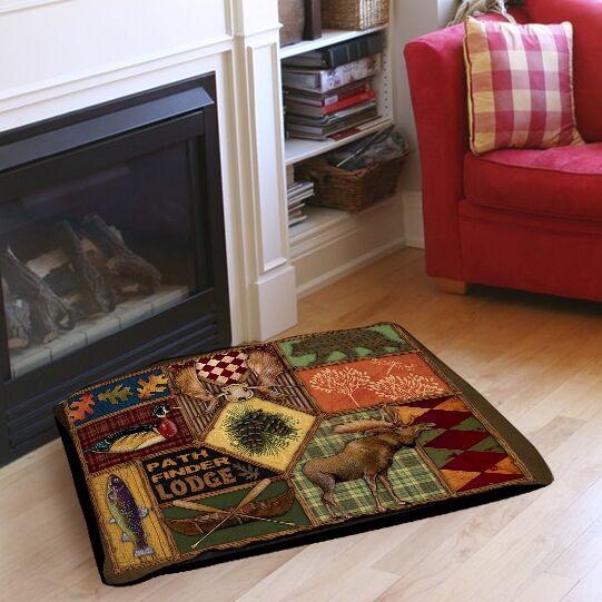 Pathfinder Indoor/Outdoor Pet Bed Size: 28