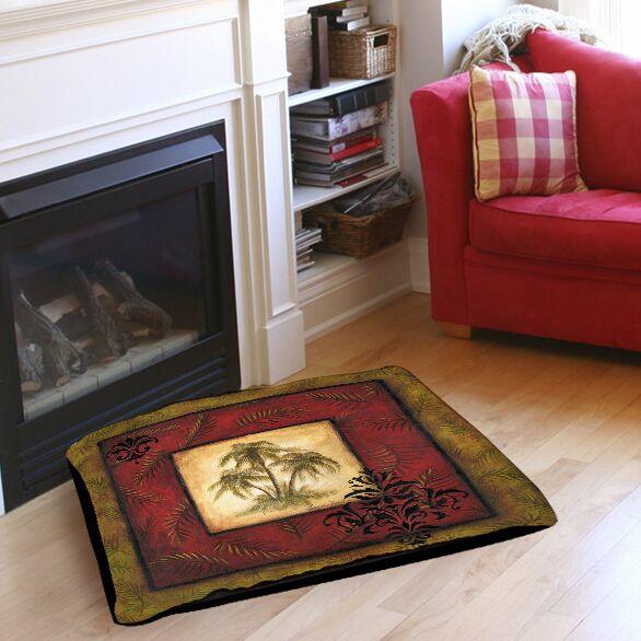 Palm Breezes V Indoor/Outdoor Pet Bed Size: 40