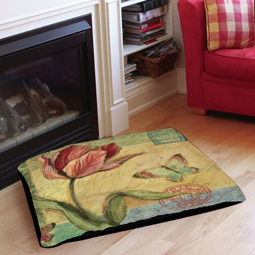 Addie Tulip Indoor/Outdoor Pet Bed Size: 40