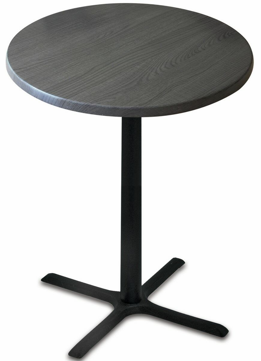 Bar Table Top Finish: Charcoal, Table Size: 30