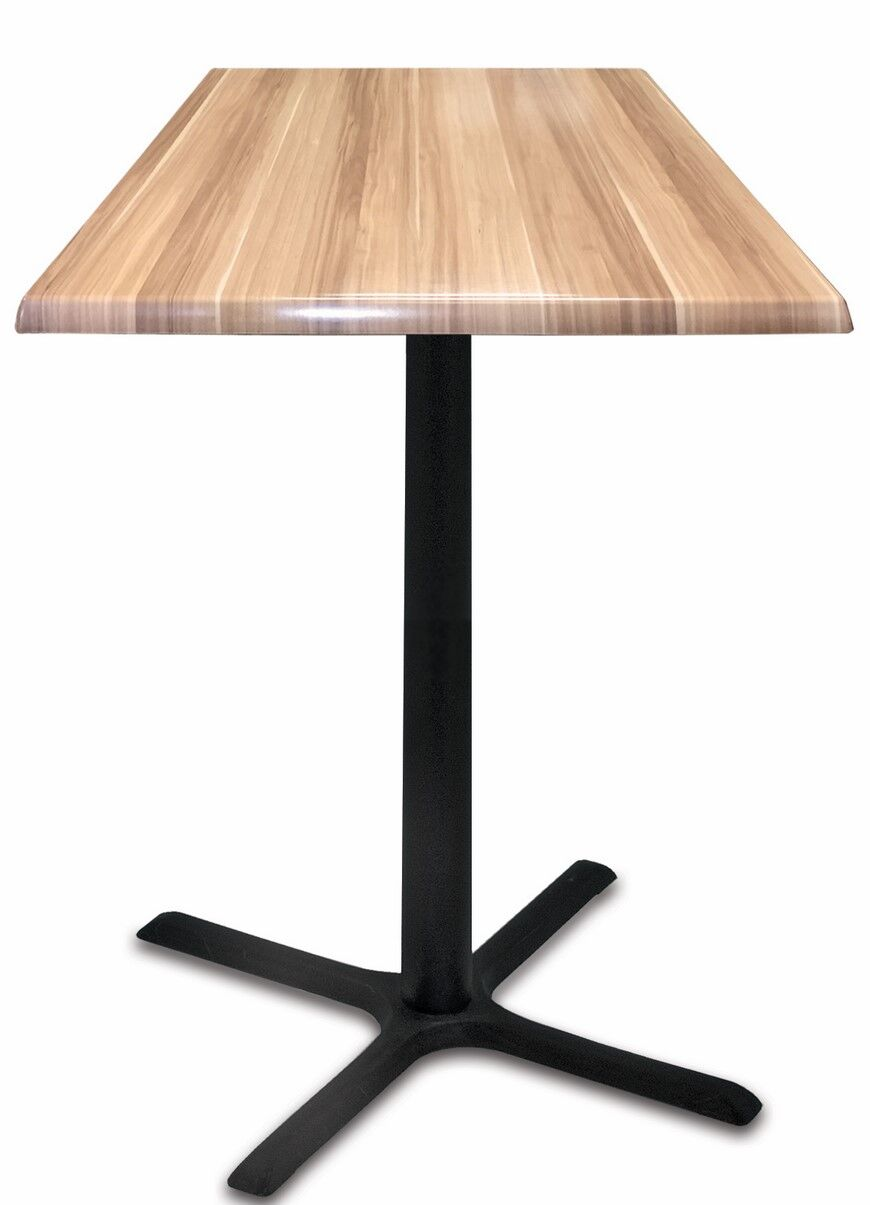 Bar Table Top Finish: Natural, Table Size: 30