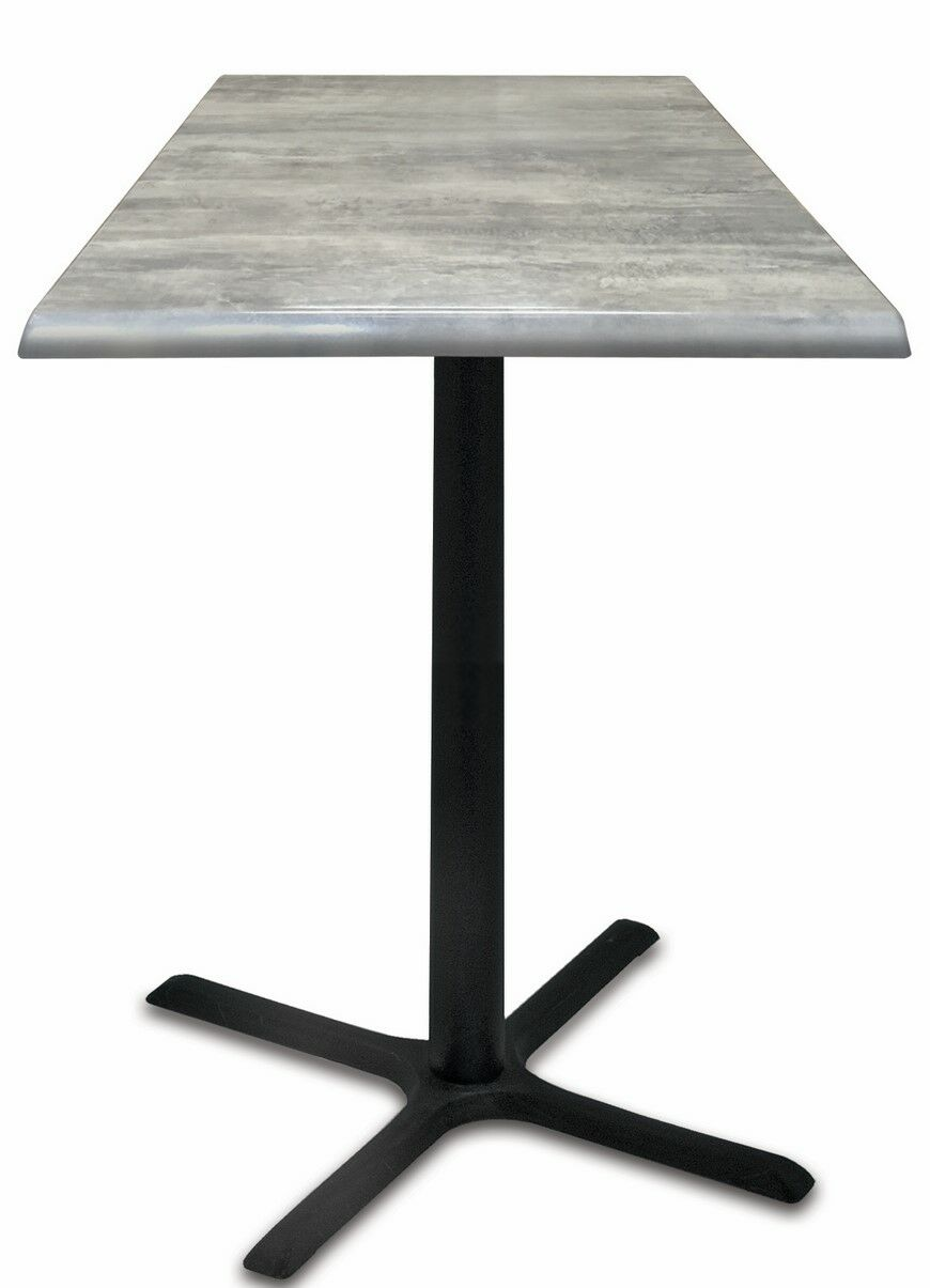 Bar Table Top Finish: Graystone, Tabletop Size: 30