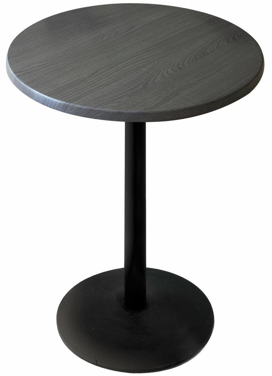 Bar Table Top Finish: Charcoal, Table Size: 36