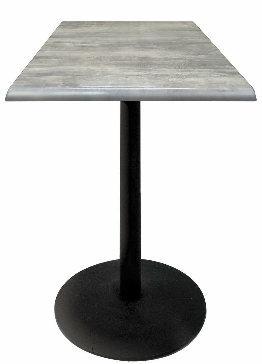 Bar Table Top Finish: Graystone, Table Size: 36