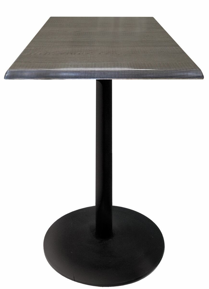 Bar Table Color: Charcoal, Table Size: 36