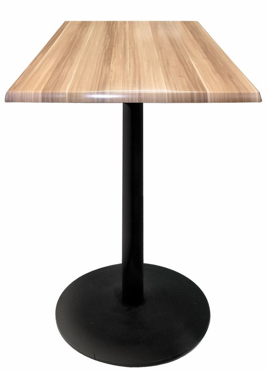 Bar Table Top Finish: Natural, Table Size: 36