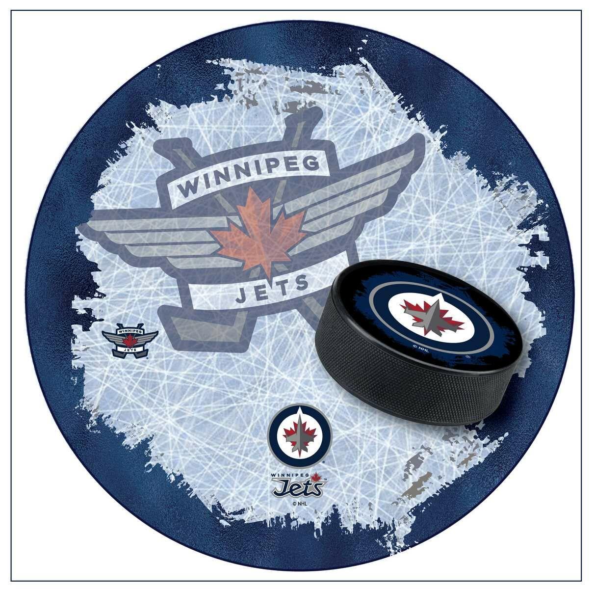 NHL Swivel Bar Stool NHL Team: Winnipeg Jets
