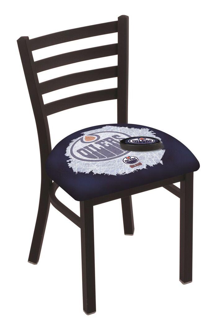 NHL Stationary Side Chair NHL Team: Edmonton Oilers
