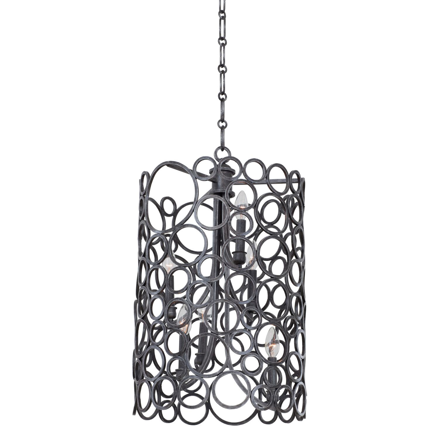 Ashbourne 6-Light Foyer Pendant Finish: Heirloom Bronze