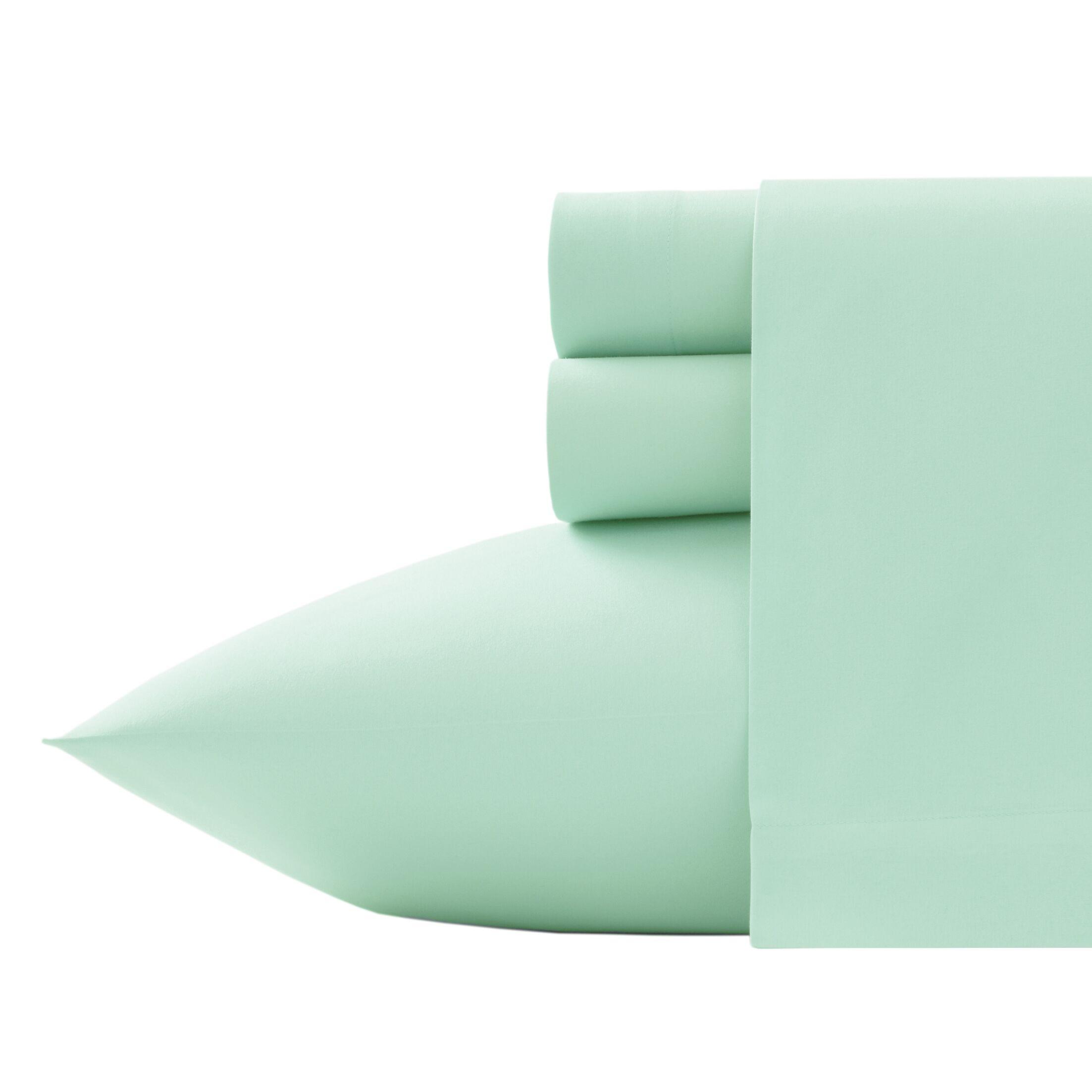 Corinne Microfiber Sheet Set Size: Twin, Color: Pistachio