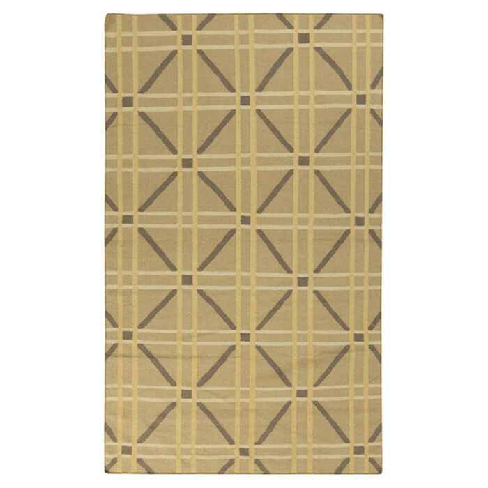 Sheffield Market Soft Yellow Rug Rug Size: Rectangle 3'3