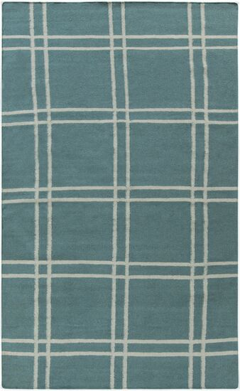 Sheffield Market Teal Green Area Rug Rug Size: Rectangle 5' x 8'