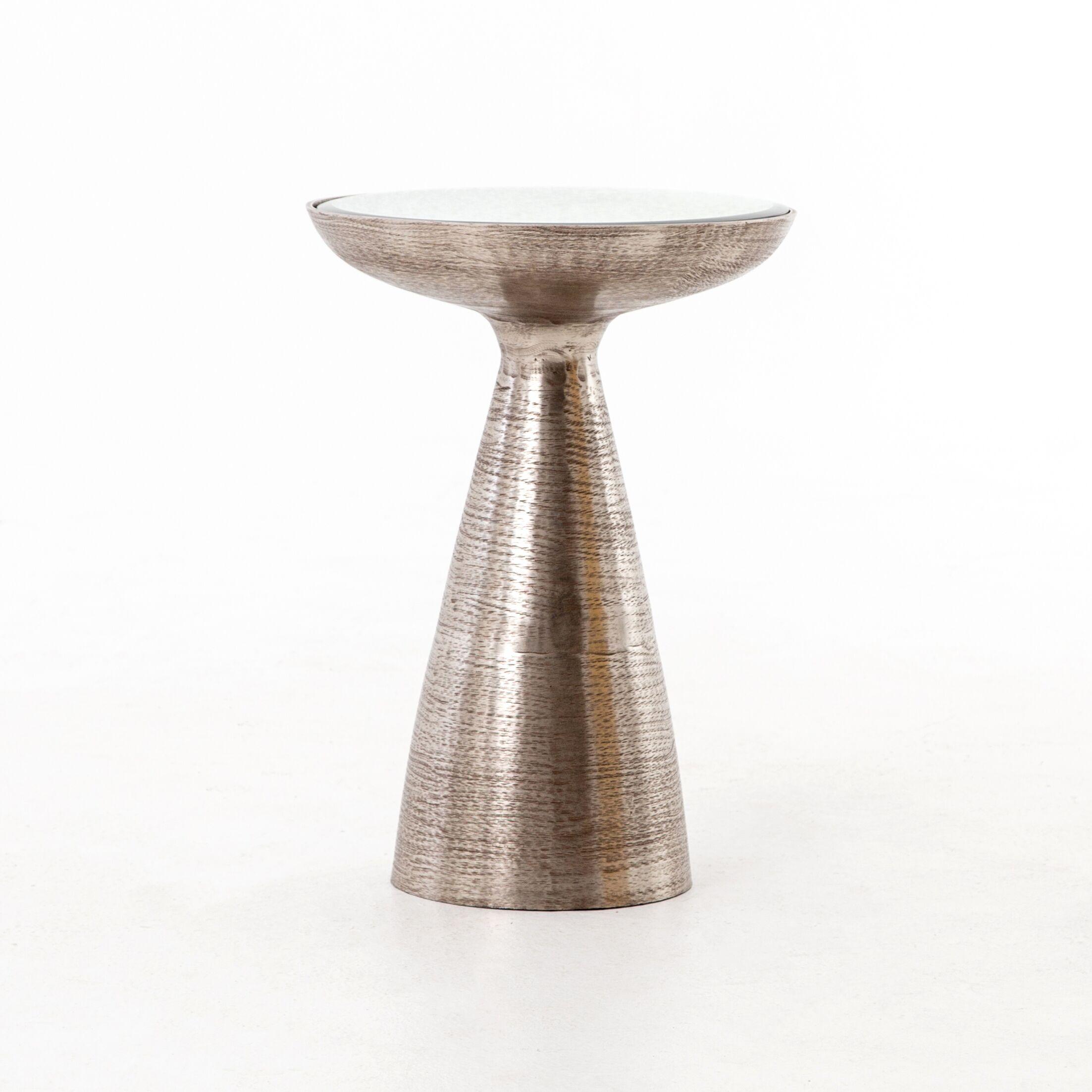 Bevis Pedestal End Table