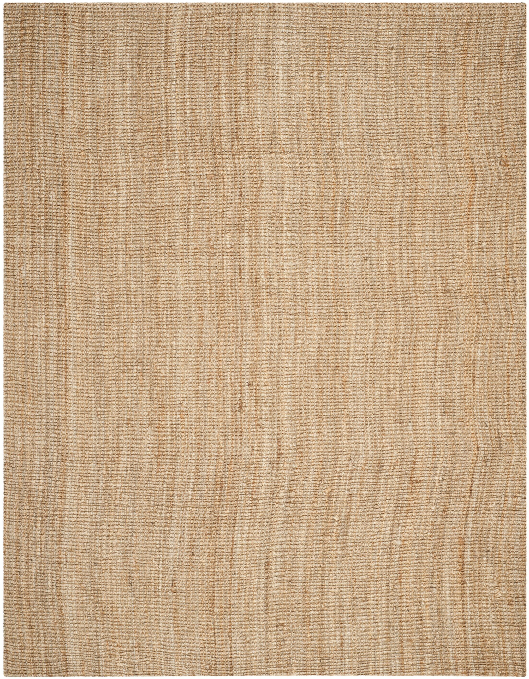 Gaines Power Loom Natural Area Rug Rug Size: Rectangle 8' x 10'