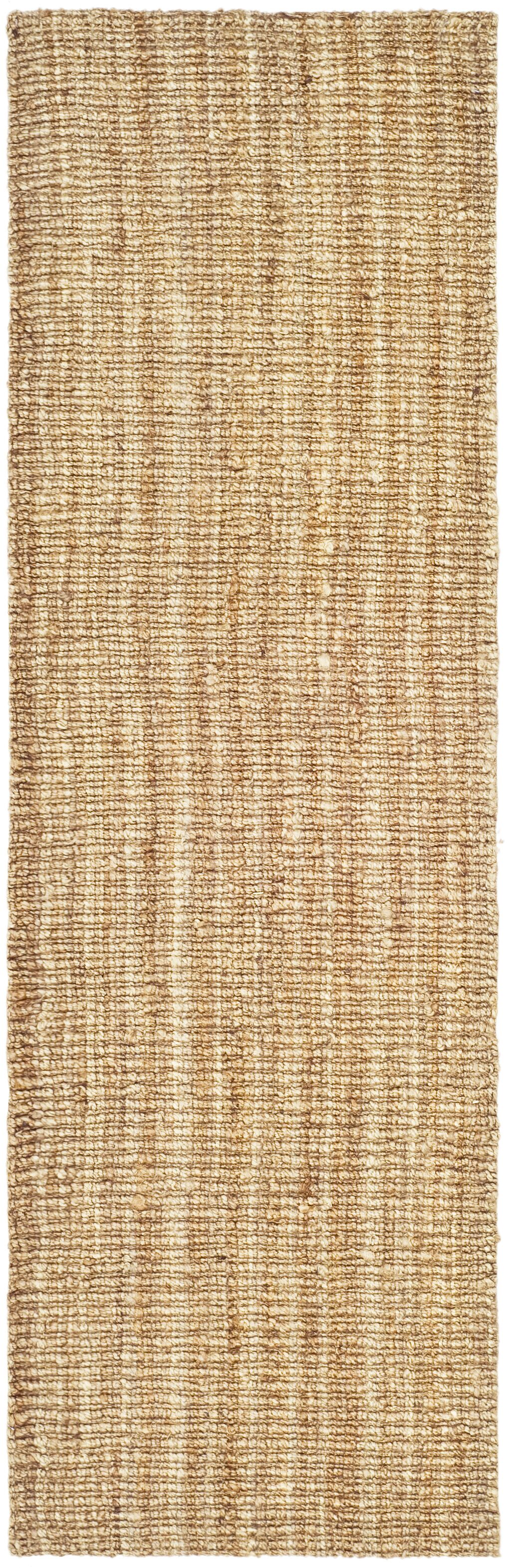 Gaines Power Loom Natural Area Rug Rug Size: Runner 2' x 16'