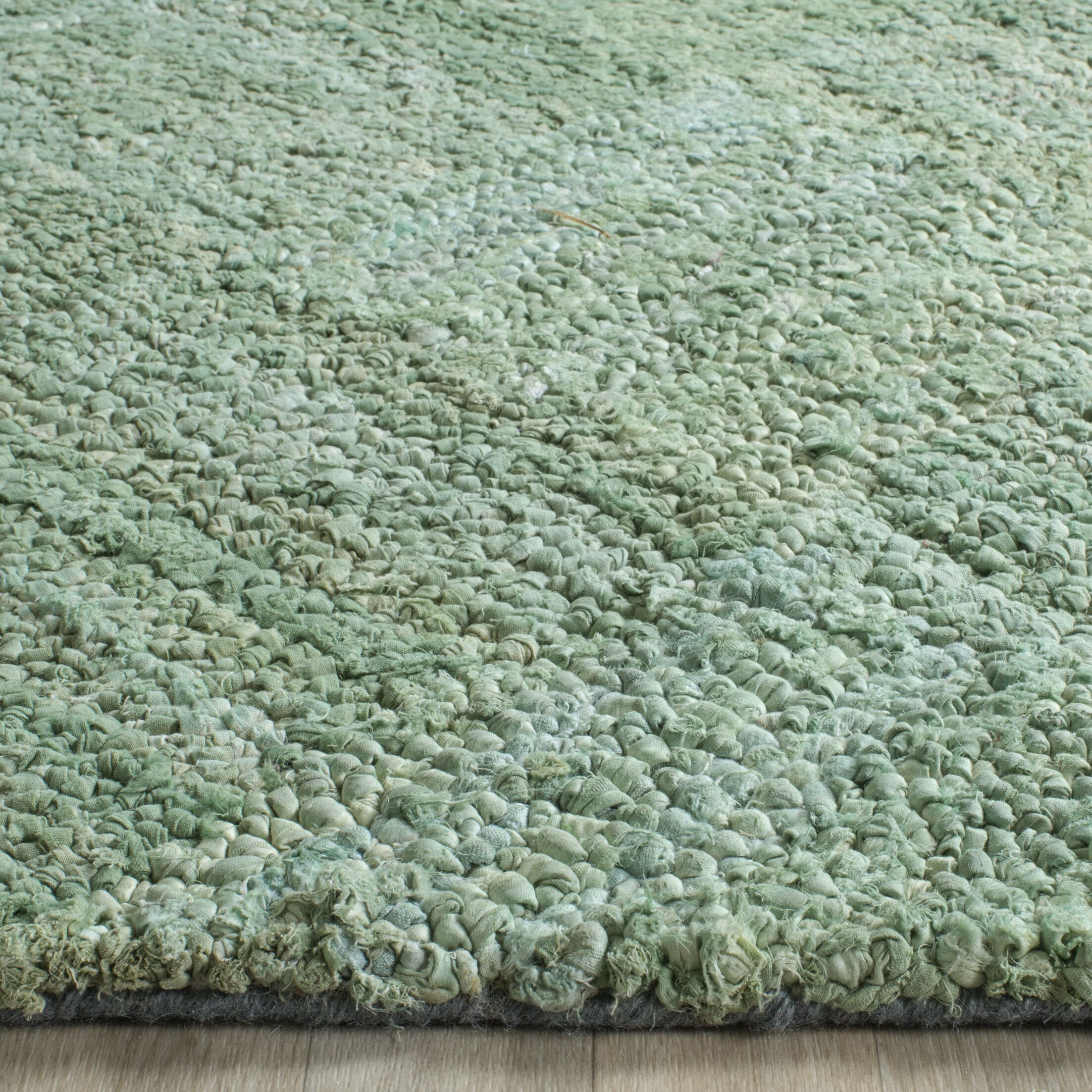 Millia Hand-Tufted Green Area Rug Rug Size: Rectangle 10' x 14'