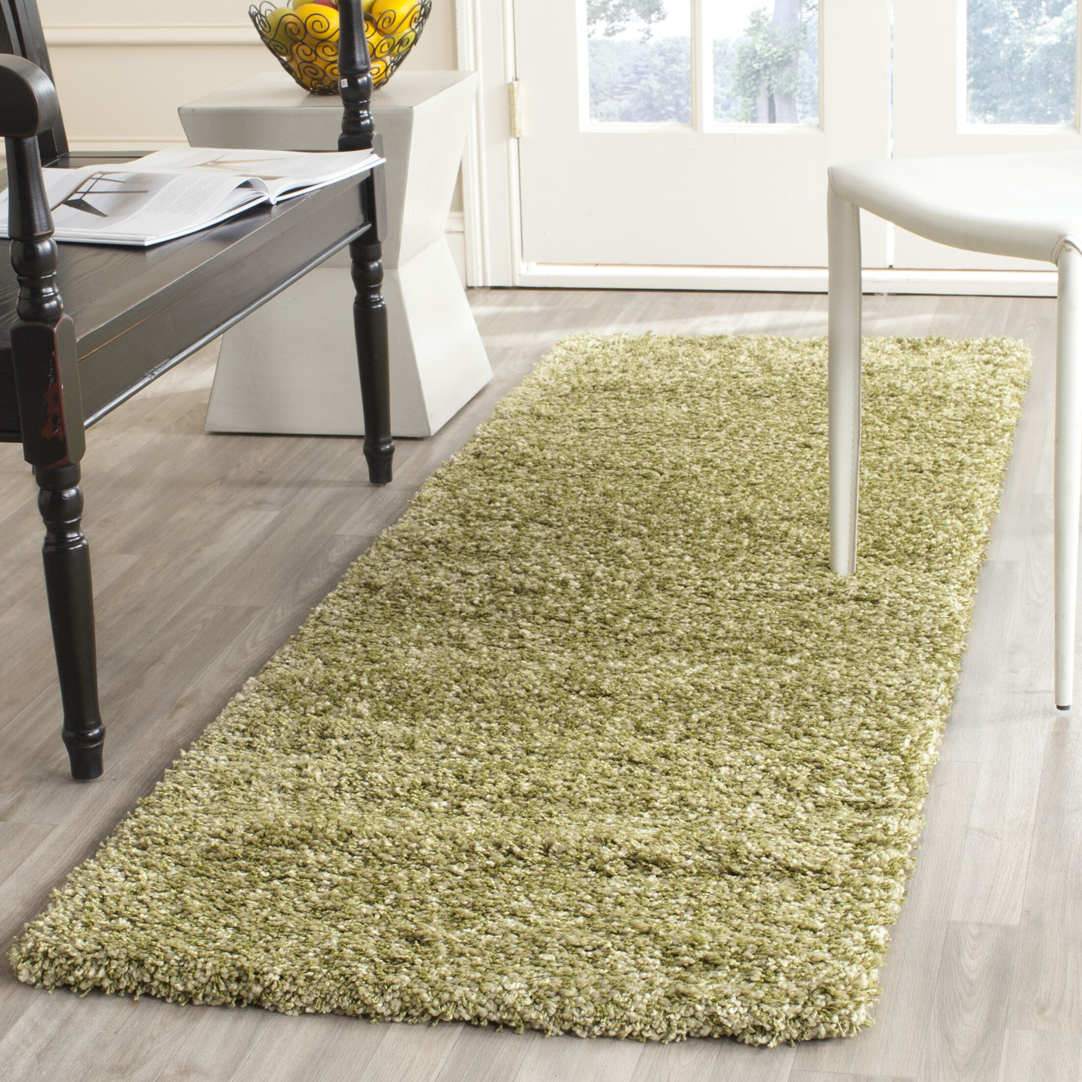 Starr Hill Green Area Rug Rug Size: Rectangle 2'3