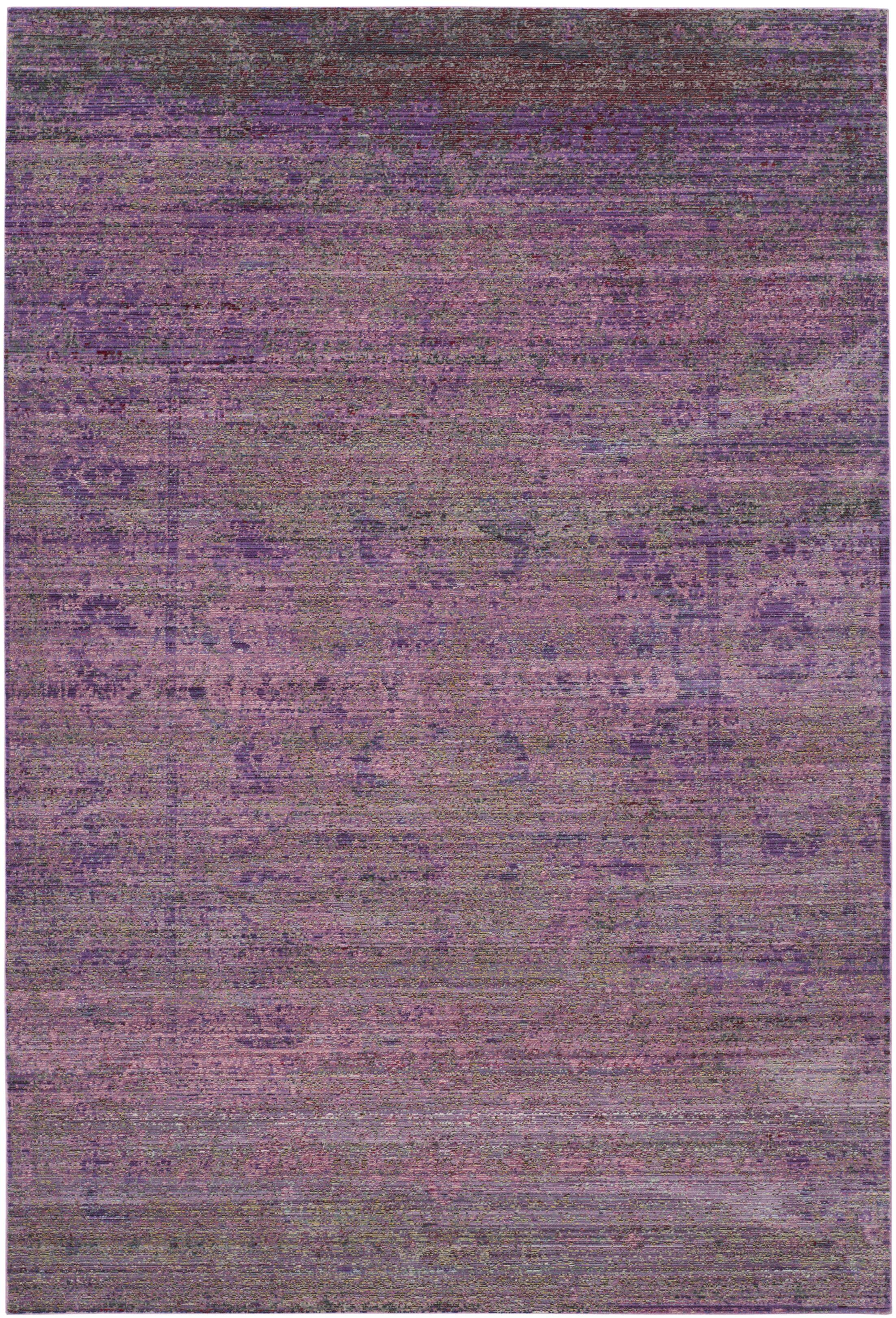 Doline Purple Area Rug Rug Size: Rectangle 5' x 8'