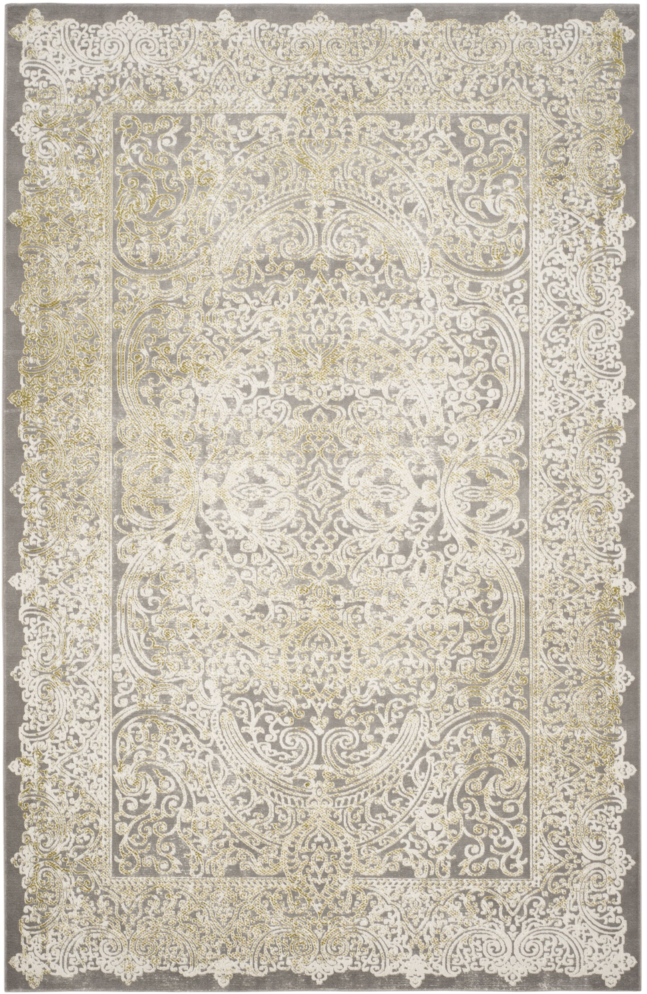 Auguste Taupe Area Rug Rug Size: Rectangle 8' x 11'