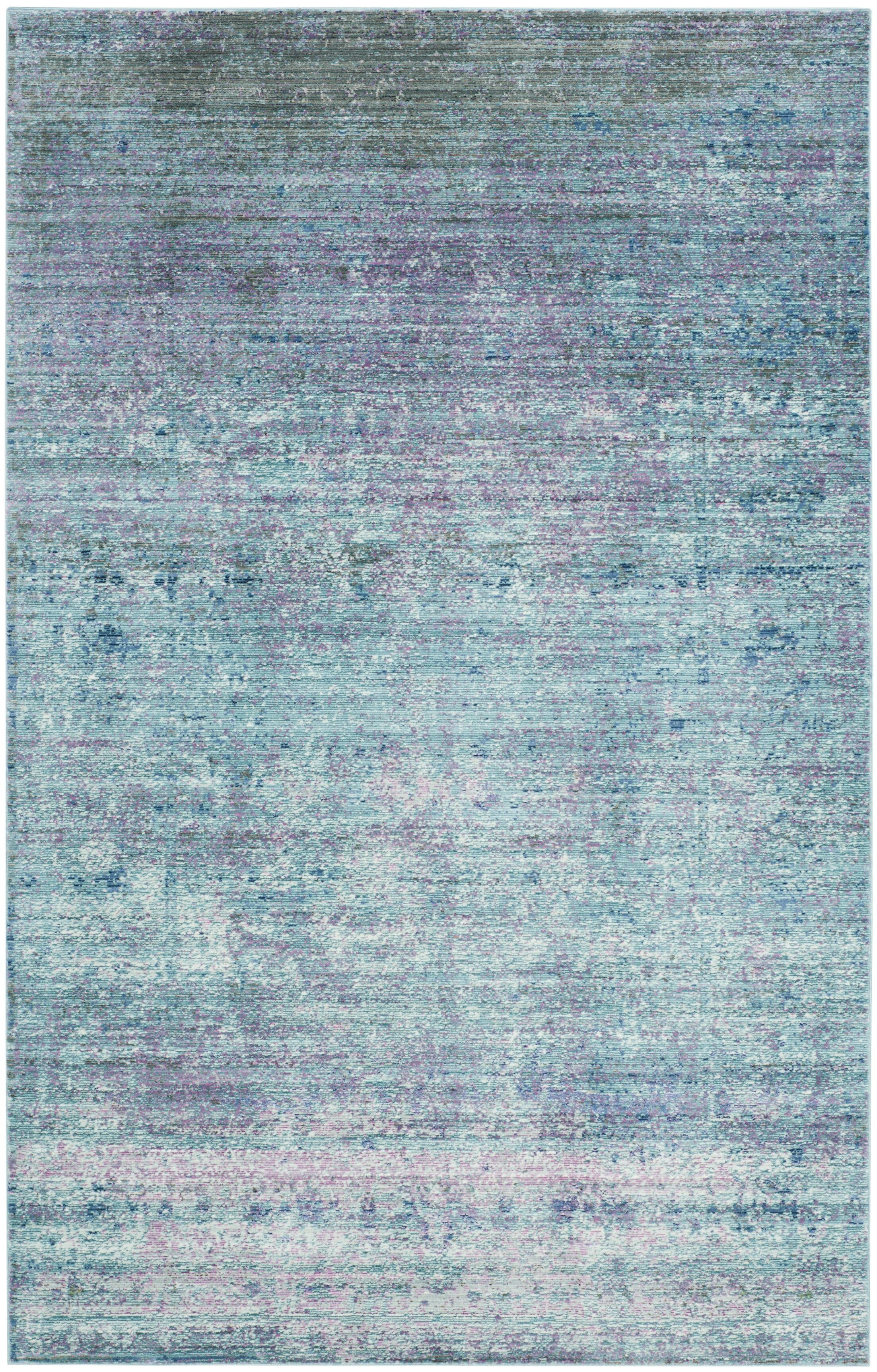 Mulhall Purple/Blue Area Rug Rug Size: Rectangle 9' x 12'