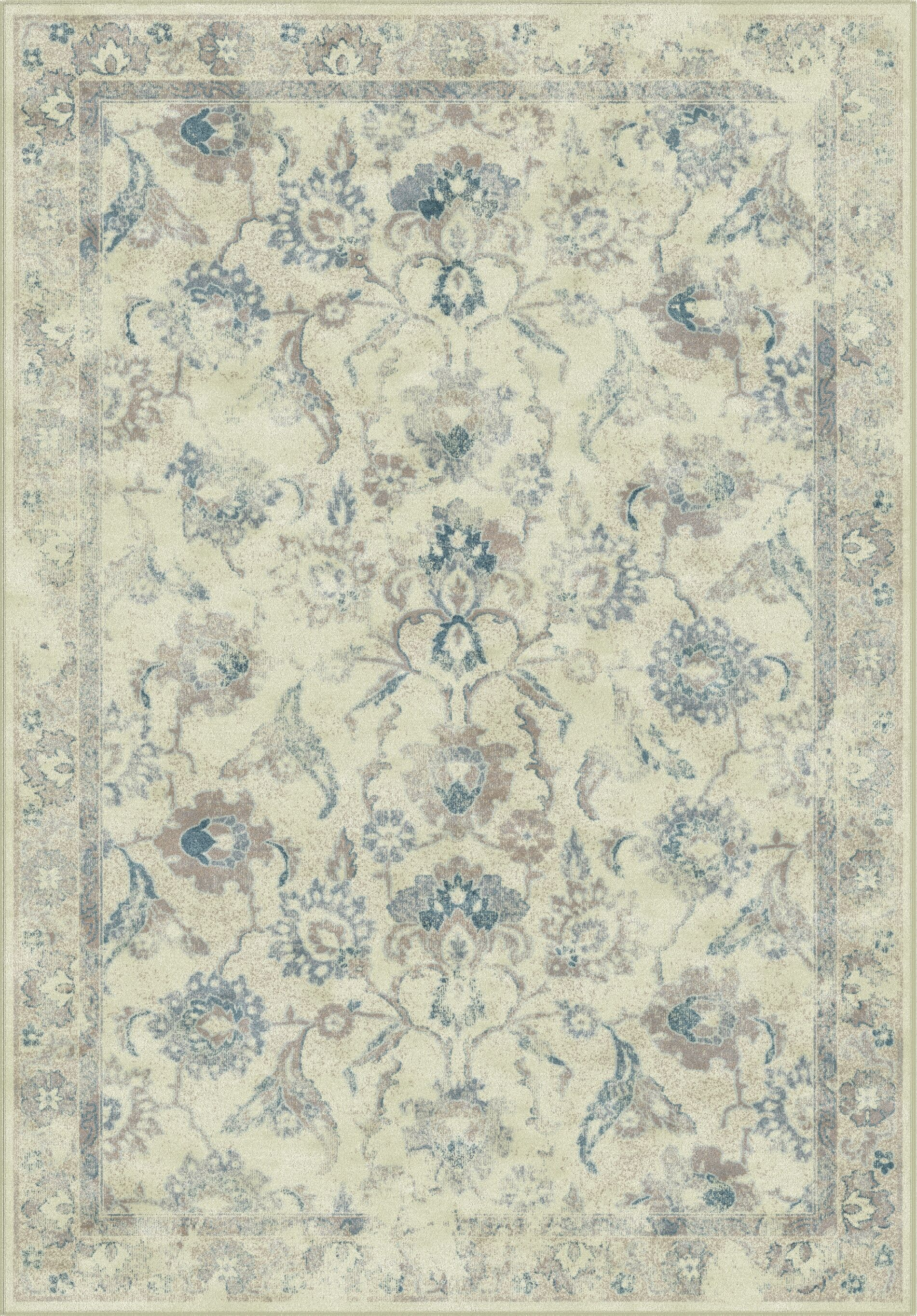 Curtis Viscose Fibre  Green/BlueArea Rug Rug Size: Rectangle 8' x 11'2