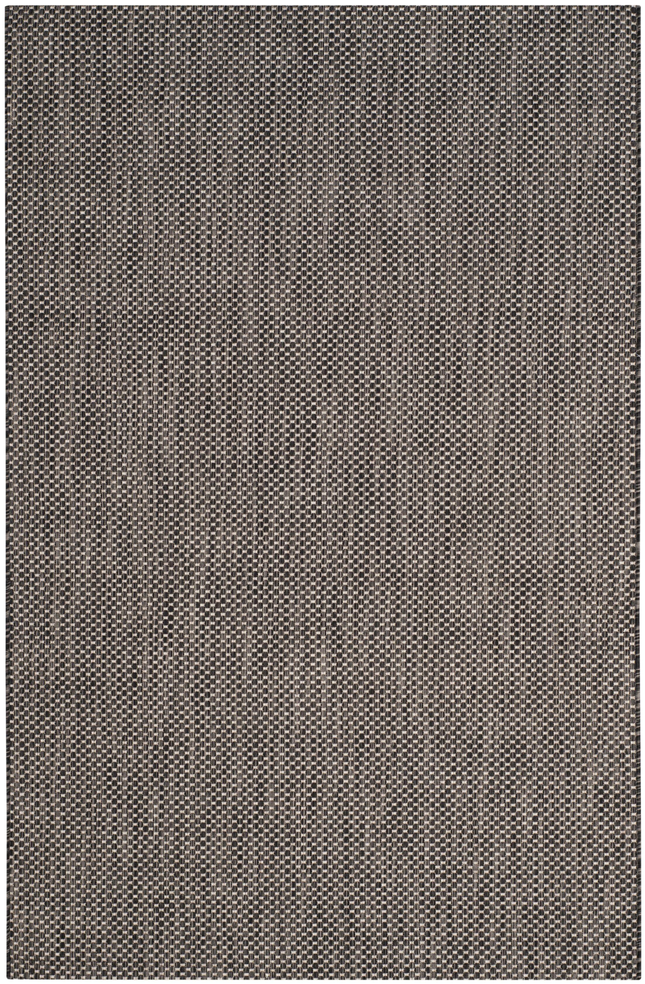 Mullen Black/Beige Area Rug Rug Size: Rectangle 5'3