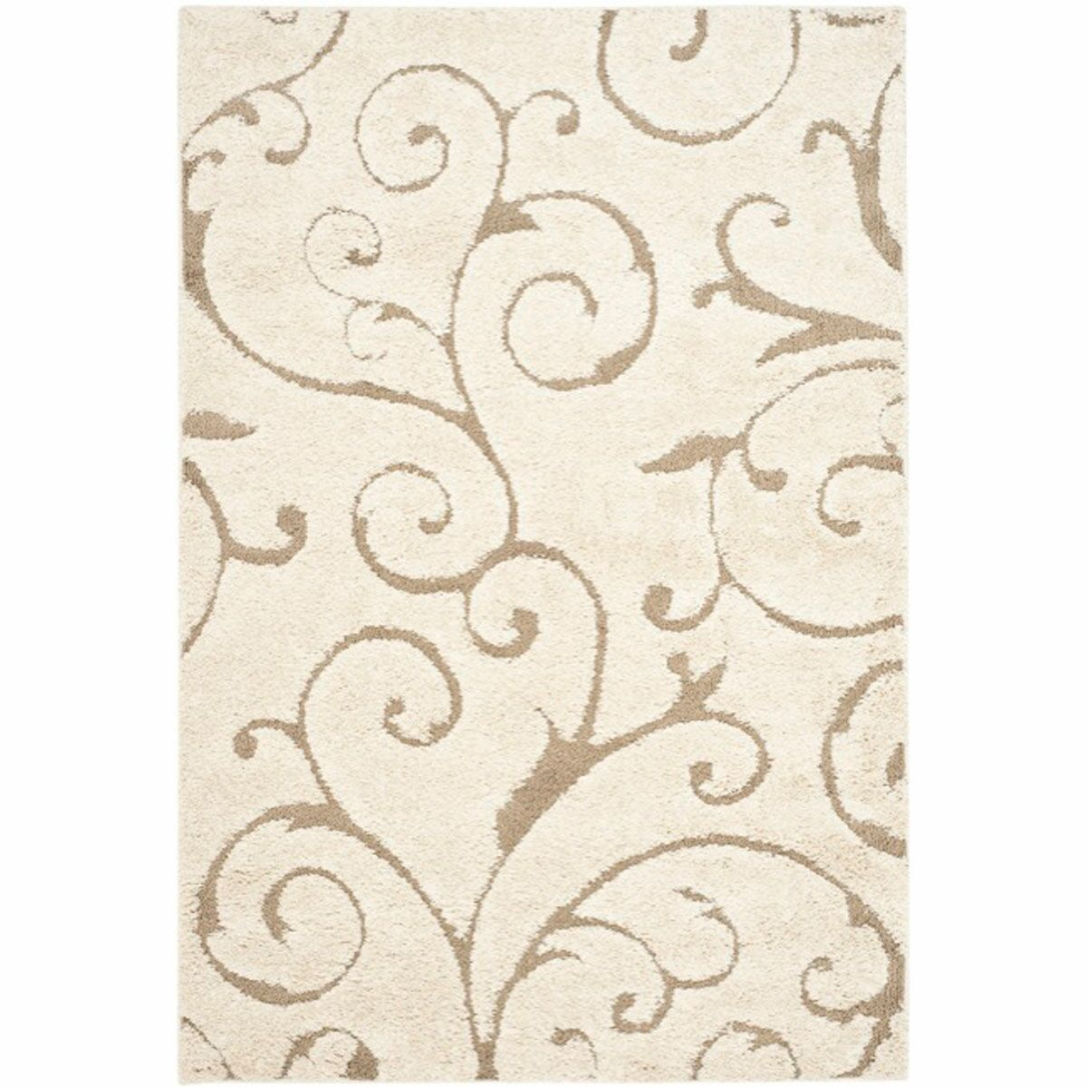 Henderson Cream Area Rug Rug Size: Rectangle 4' x 6'