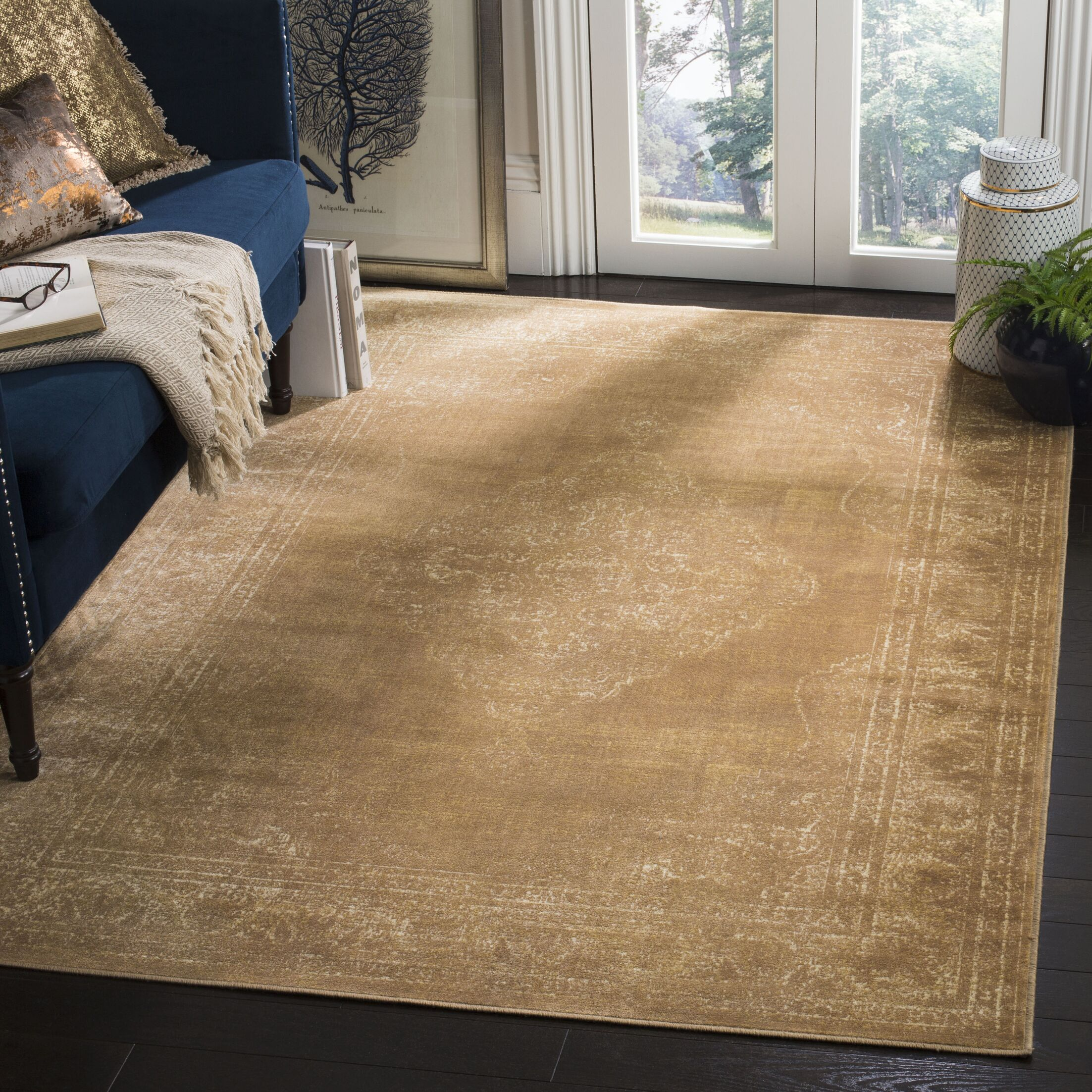 Todd Taupe Rug Rug Size: Square 6'