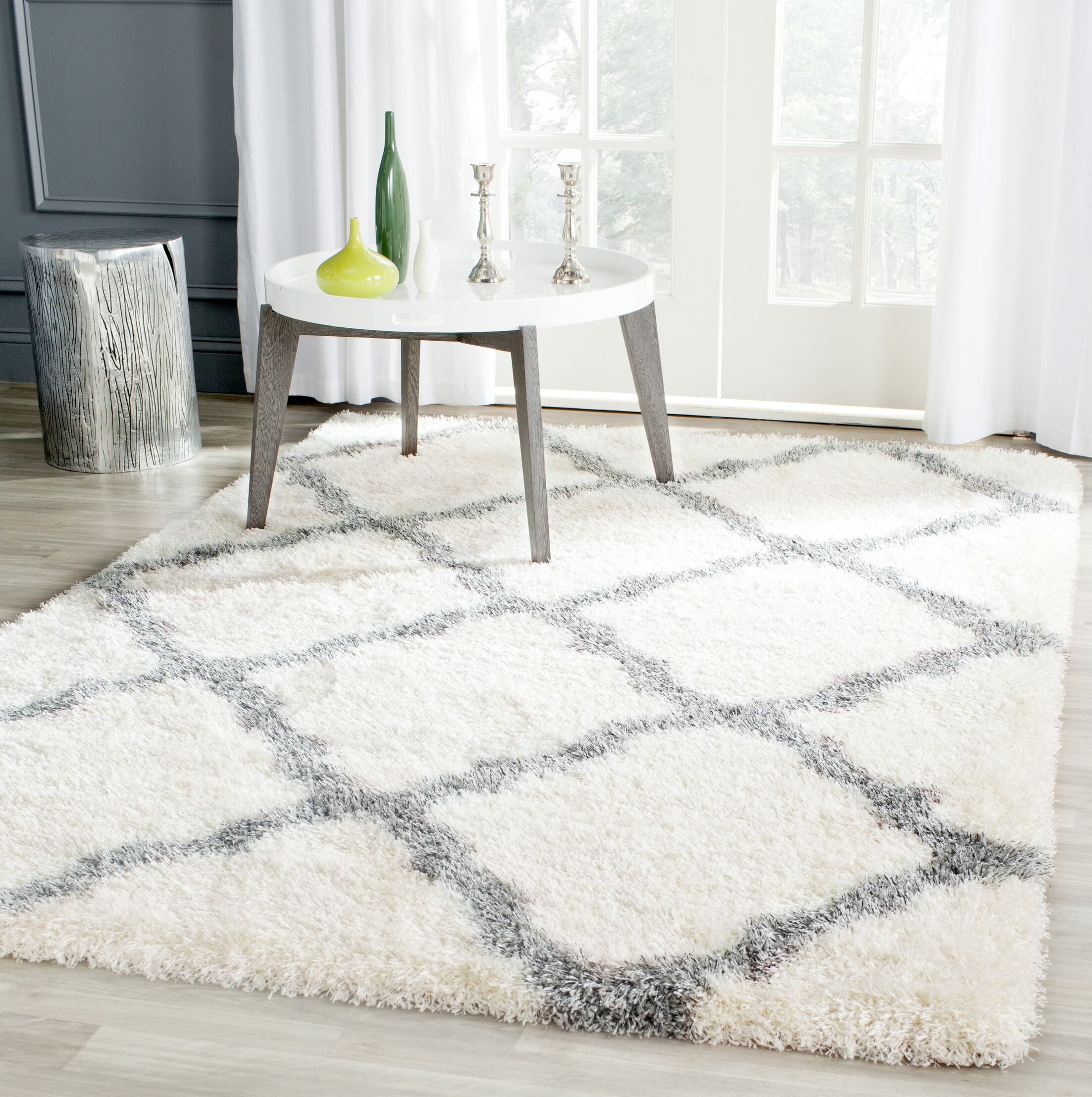 Macungie Gray Indoor Area Rug Rug Size: Rectangle 5'3