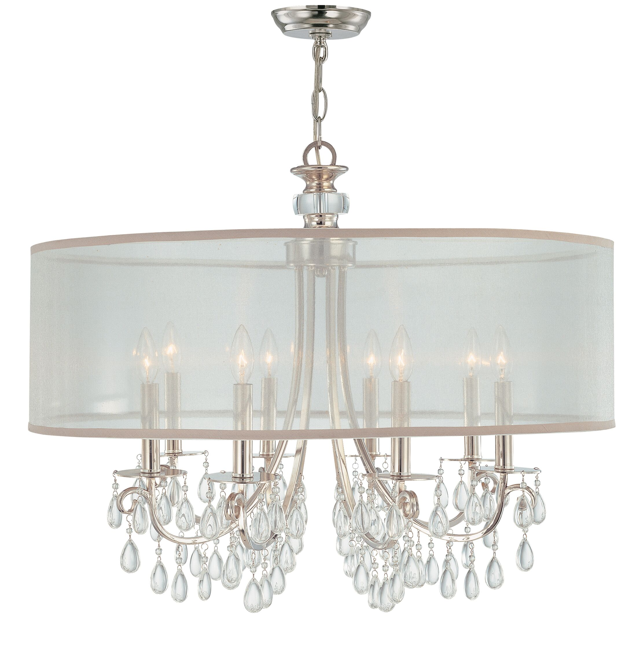 Aayush 8-Light Chandelier Finish: Polished Chrome