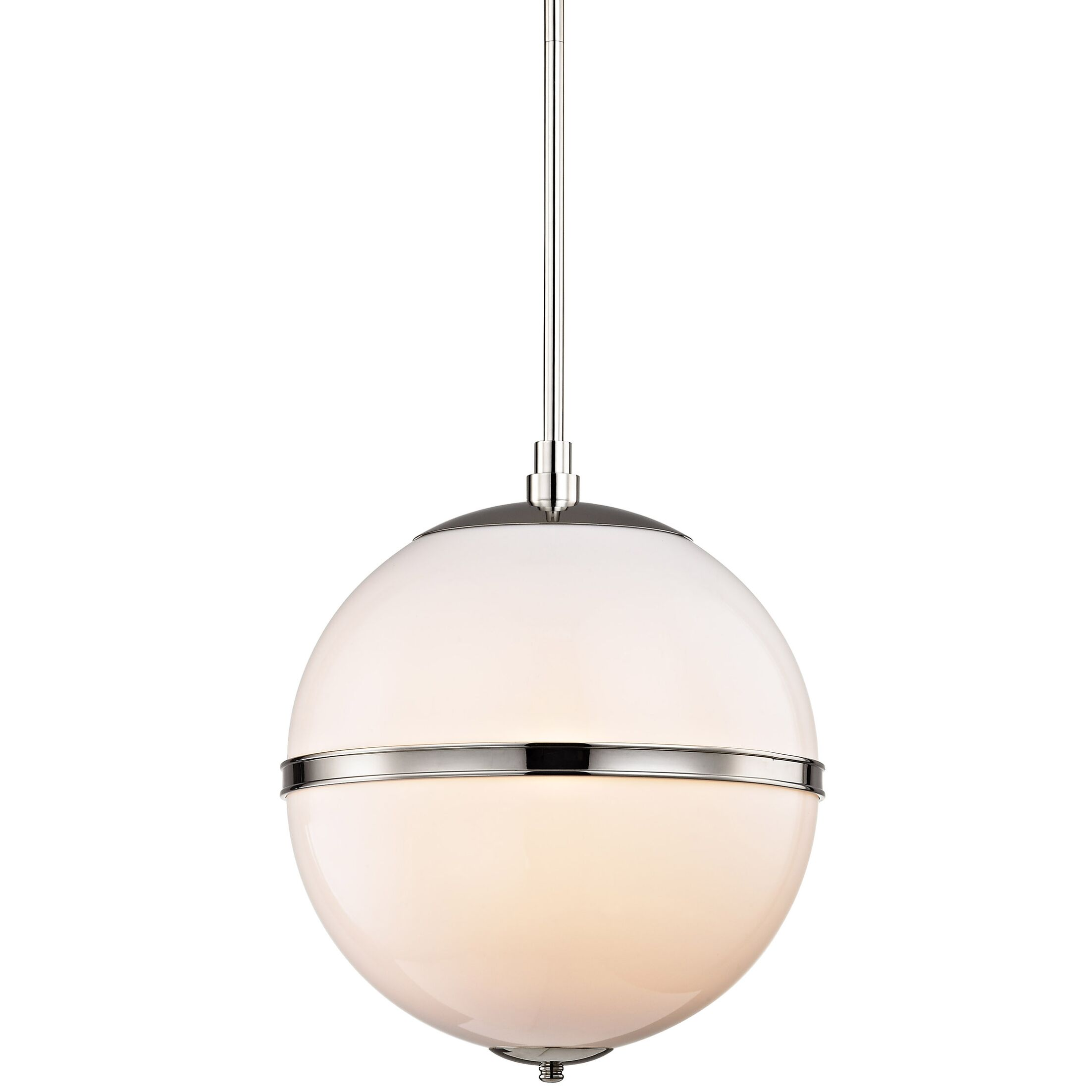 Conrad 3-Light Pendant Finish: Polished Nickel