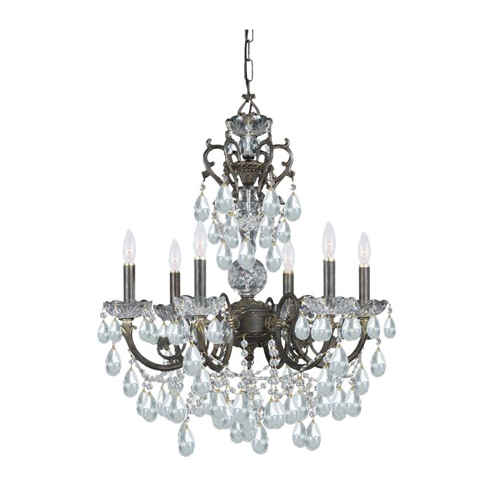 Markenfield 6 Light Candle Style Chandelier